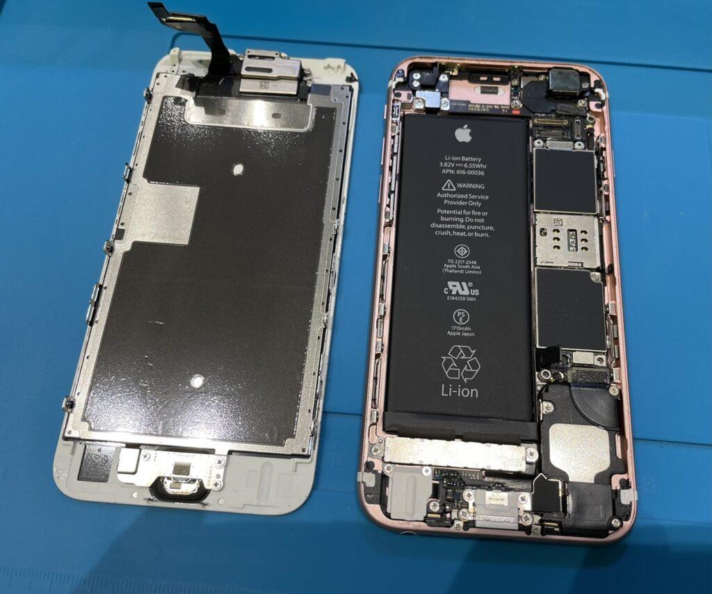 iPhone 6s 液晶交換修理