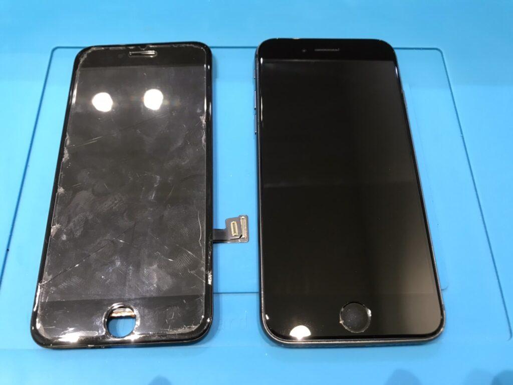 iPhone 8 液晶交換