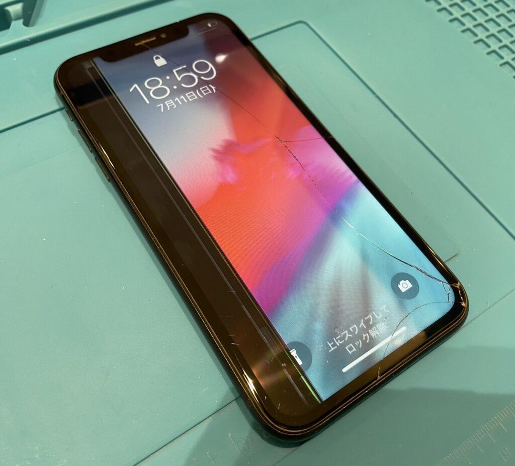 iPhone XR 液晶交換修理